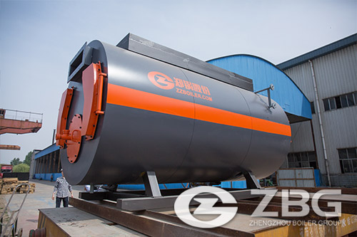 WNS series oil and gas fired boiler
